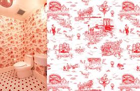 Political Science Shower Curtains Political Science Fabric Flavor Paper Makes Brooklyn Toile Wallcoverings The New York Times