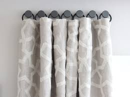 Hanging Curtains With Rings A Solution For Hanging Curtains On Tricky Windows Shine Your Light