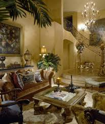 Tuscan Style Living Room Tuscan Living Room With Houseplants The Elegant Tuscan Living
