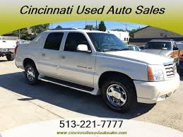 used cadillac escalade truck for sale 2005 cadillac escalade ext for sale in cincinnati oh stock 12465