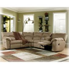 Ashley Furniture Microfiber Loveseat 6170049 Ashley Furniture Amazon Mocha Raf Reclining Loveseat