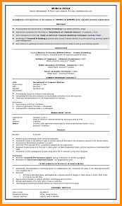 Best Resume Format For Banking Job by 10 Resume Format For Bank Job Manager Resume