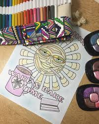 diy coloring pages with eye shadow u2014 chronic crafter
