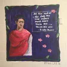 frida kahlo mural u2013 nick lee u0027s art