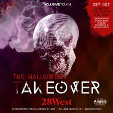 ra the halloween takeover at 28 west bar london 2016