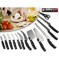 amazon com miracle blade world class 13 piece knife set kitchen