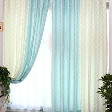 White And Teal Curtains Blue And White Curtains Free Home Decor Oklahomavstcu Us