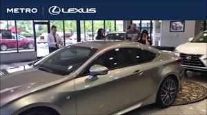 lexus dealer akron ohio 2017 lexus lc500 reveal cleveland oh metro lexus dealership