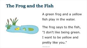 1st Grade Reading Comprehension Worksheets The Frog And The Fish A Wordville Reading Comprehension Story
