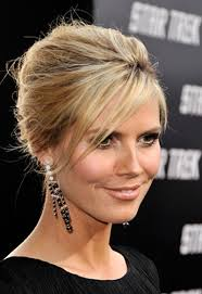 Frisuren Finder by Heidi Klum Elegante Hochsteckfrisur Heidi Klum Hair Style And