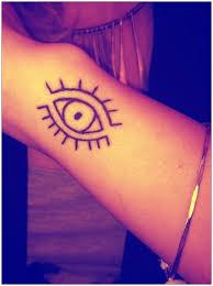 simple evil tattoo simple evil eye tattoo google search accessories pinterest