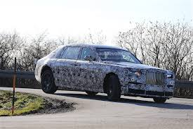 2018 rolls royce phantom spied with no visible major changes
