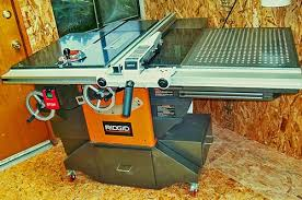 Ridgid Router Table Decked Out Ridgid Model R4511 Table Saw 12 The Unveiling