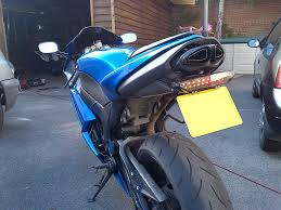 guide integrated led tail light upgrade zx6r forum