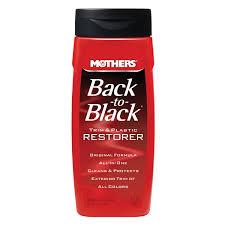 amazon com mothers 06112 back to black plastic and trim restorer