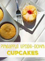 pineapple upside down cupcakes the typical mom