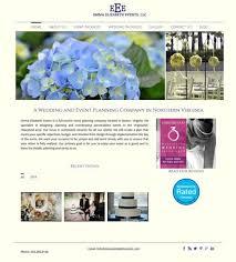 wedding planning website web design wedding planner event planner