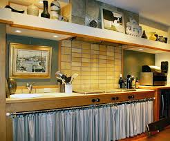 Kitchen And Bath Curtains by Kitchen Cabinets With Curtains Anybody Remodeling Decorating