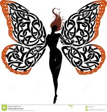 celtic clipart butterfly pencil and in color celtic clipart