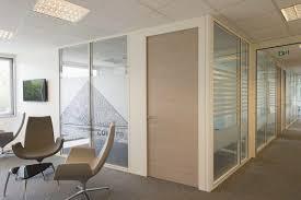 cloison aluminium bureau cloison amovible en aluminium vitrée de bureau p85 initiale
