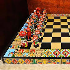 Ceramic Chess Set Fair Trade Ceramic Chess Set Incas U0026 Conquistadors