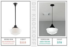 Schoolhouse Pendant Light Schoolhouse Pendant Light Solution Gray House Studio