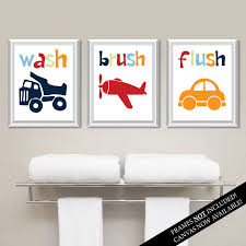 transportation bathroom art prints kids bathroom art kids