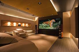 Home Theater Decorating Ideas Pictures by Modern Home Theater Room Homes Design Inspiration
