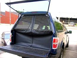 homemade truck awning pickup campe lift off canopy camping canvas road trailer