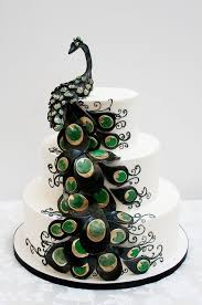 theme wedding cakes peacock theme wedding peacock wedding cakes