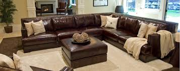 real leather sectional sofa cool large leather sectional sofas beautiful large leather