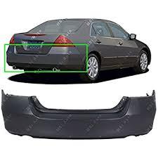 amazon com painted rear bumper cover honda accord 06 07 taffeta