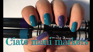 ciate london mani markers review daydream nails youtube
