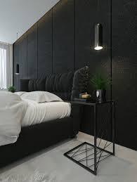 Black Bedroom Design Ideas Black And White Interior Design Ideas Modern Apartment By Id