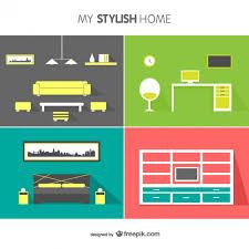 home interior vector interior design vector vector free vector in ai eps