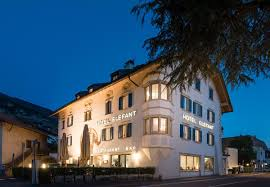 welcome in hotel elefant in ora at lake caldaro