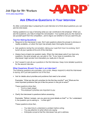 most questions in job interview ask effective questions in your interview job tips for 50 workers