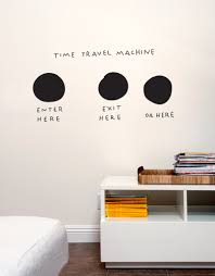 self adhesive removable wall graphics and home goods blik time machine
