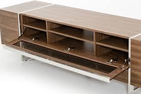 nova domus lorena modern walnut tv stand