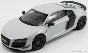 Audi R8 Grey - kyosho 09218sgr scale 1 18 audi r8 gt 5 2 v10 fsi 2010 suzuka