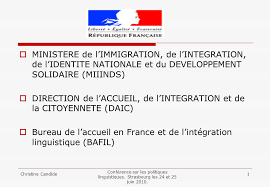 bureau de l immigration direction de l accueil de l integration et de la citoyennete daic