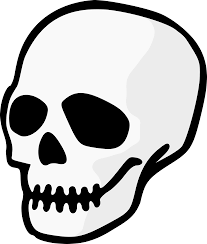 picture of a halloween skeleton halloween clipart skull u2013 festival collections