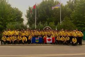Wild Fires In Canada Bc by Video 300 Out Of Province Firefighters To Fight B C Wildfires
