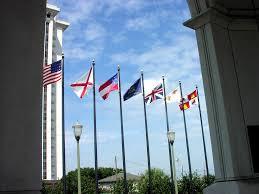Flag Of Alabama Rsa Pavilion U2013 Seven Flags U2013 Exploring Montgomery