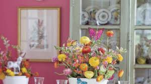 easter table decorations colorful easter table decorations southern living