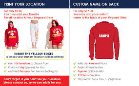 lifeguard pullover hooded sweatshirt red iconic east coast hoodie
