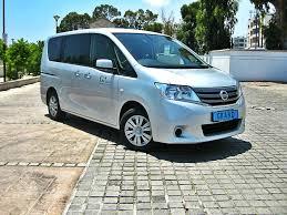 nissan family van grand car rentals car rentals in cyprus nissan serena grand