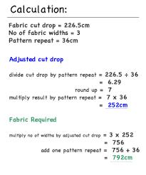 Roman Blind Measurement Calculator Pencil Pleat Curtain How To Calculate Fabric Quantities
