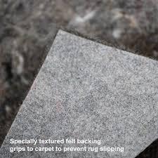 Non Slip Rug Pads For Laminate Floors No Muv Non Slip Rectangle Rug Pad On Carpet Best Rug Pads