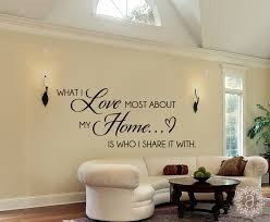 home wall decals what i love most about my home home wall